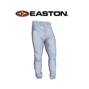 Easton Deluxe Baseball Softball Pants (Two Pockets, Double Knees, Pro Length) - Youth... by Easton