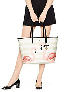 Kate Spade Strut Your Stuff Flamingo Harmony Baby Diaper Bag by Kate spade