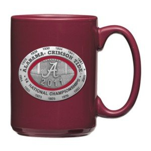 Alabama Crimson Tide 2012 BCS National Champions Coffee Mug
