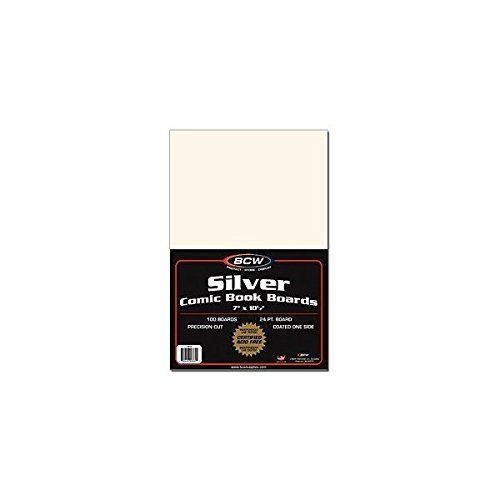 100-Silver-Age-Size-Comic-Book-Backing-Boards-Pack