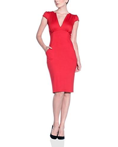 MAIOCCI Vestido Rojo