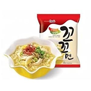 Kokomyun Hot Spicy Chicken Soup Noodle Ramen 4.23 Oz X 10 Packs