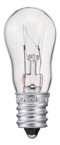 Philips 416693 6-Watt S6 Candelabra Base Indicator Light Bulb, 2-Pack