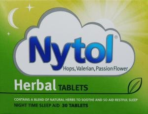 Nytol Herbal Tablets for the natural relief of insomnia (30 tablets)