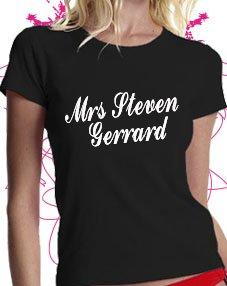 Mrs Steven Gerrard T-shirtm