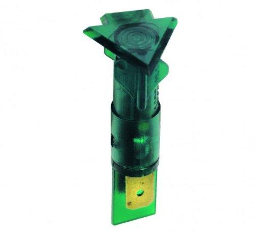 Lampe,Kontroll- grün, dreieckig