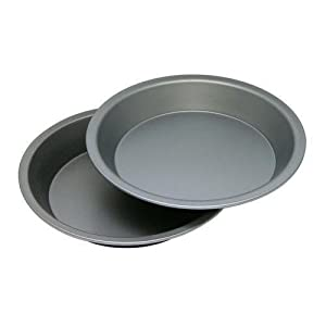 OvenStuff Non-Stick 9 Inch Pie Pan Two Piece Set New