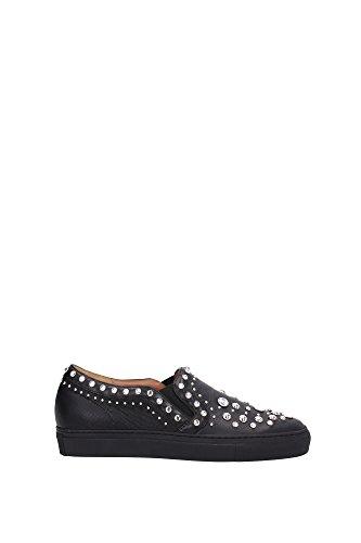 BE08155195001-Givenchy-Pantoufle-Femme-Cuir-Noir