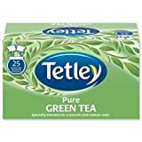 Tetley Tea Bags Pure Green Tea Individually Wrapped Ref 1293A - Pack 25