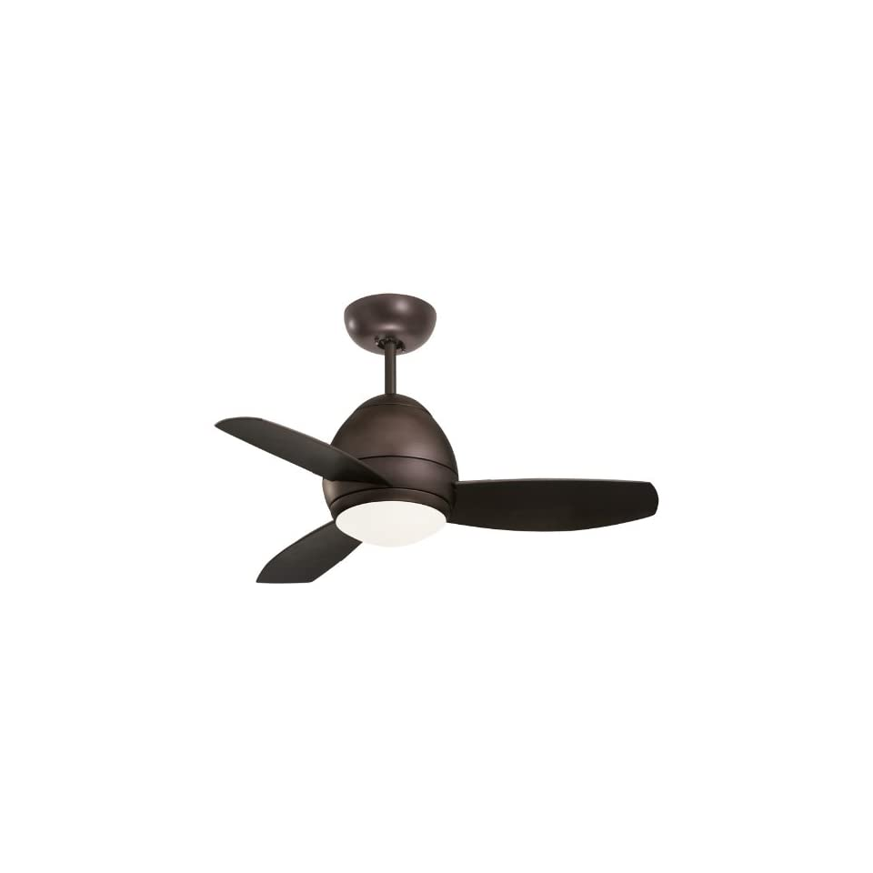 Emerson CF244ORB Curva Indoor/Outdoor Ceiling Fan, 44 Inch Blade Span, Oil Rubbed Bronze Finish