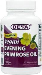 Deva Vegan Evening Primrose Oil -- 90 Vcaps