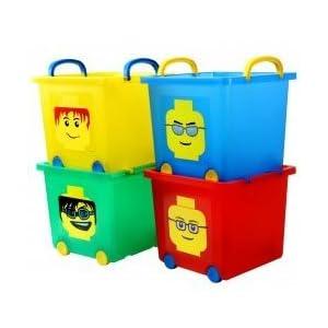 Iris Lego Stack Basket 4-pc. Set