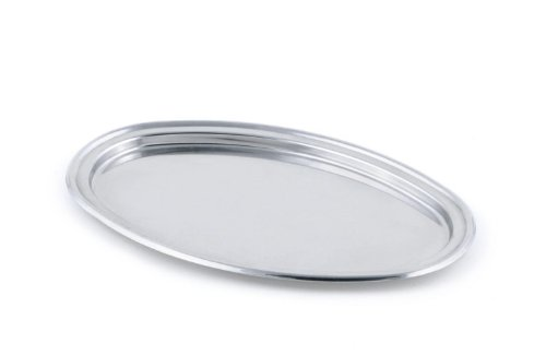 Brilliant Small Stainless Steel Oval Tray - Fine Stainless Steel Serveware
