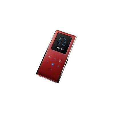 Samsung YP-K3JQR K3 2 GB Slim Portable Media Player (Red)