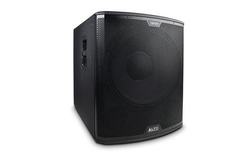 "Alto Professional Black 18S 18"" Active Subwoofer With Wireless Control"