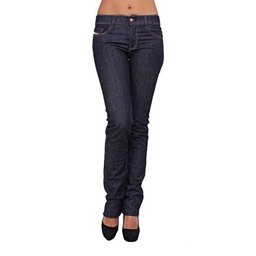 DIESEL - Women's Jeans LIVY 8WZ - Regular Slim - Straight - Stretch