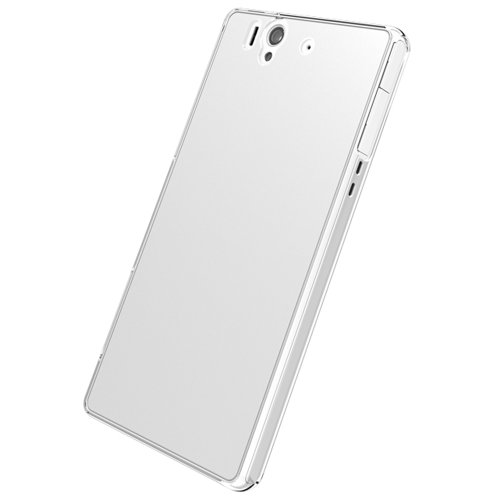 iBUFFALO docomo Xperia Z SO-02E専用 キズにとことん強い、3Hハードケース 液晶&背面保護フィルム付 クリア BSMPSO02EHCR