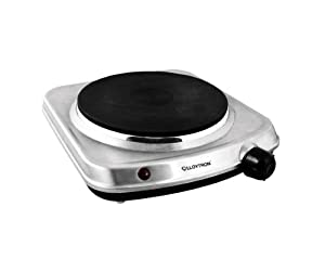 Lloytron E831ss 1500w Stainless Steel Table Top Hob