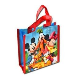 Disney Mickey Clubhouse Mini Non Woven Tote Bag with Matte Printing