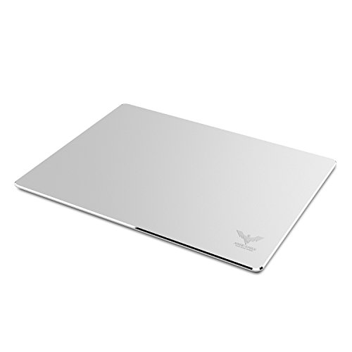HAVIT Aluminum Gaming Mouse Pad with Anti-Skid Rubber Base - Silver (HV-MP835) (Aluminum Mouse Pad compare prices)