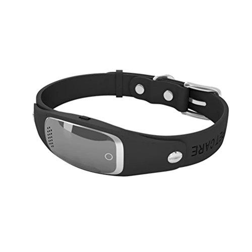 PETCARE-New-Fashion-Design-Dog-GPS-Tracker-Collar-Black
