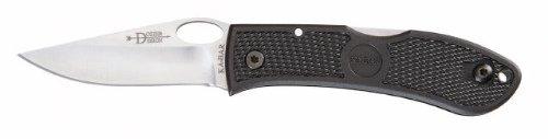Ka-Bar Dozier Folding Hunter - Straight Edge W/Thumb Notch