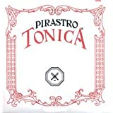 Pirastro Tonica 4/4 Violin String Set - Medium Gauge with Ball End E