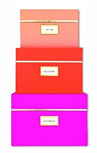 Kate Spade New York Nesting Boxes - Neon