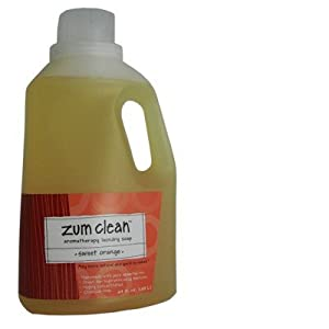 Zum Laundry Soap - 64 oz - Sweet Orange