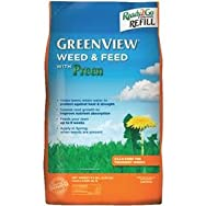 GreenView Refill Lawn Fertilizer with Weed Killer-WEED FEED W/PREEN REFILL