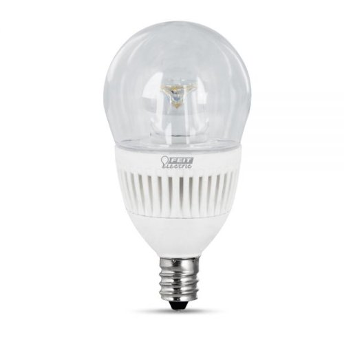Feit Electric Bpa15C/Cl/Dm/Led Led Dimmable Light Bulb, 40W Equivalent