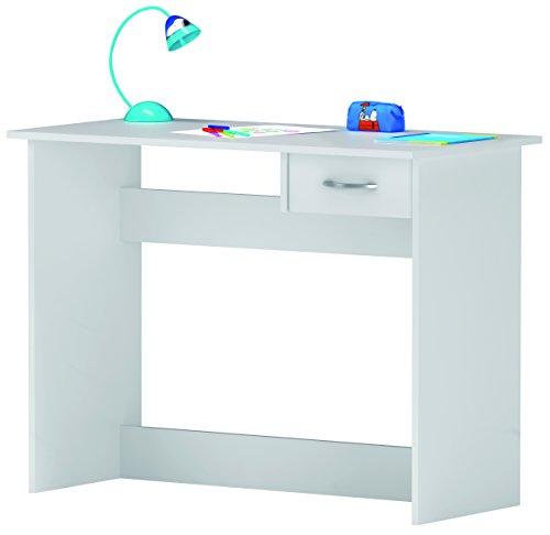 Computertisch-Schreibtisch-Computerschreibtisch-Tisch-wei-Brotisch-1-Schublade-1006-x-765-x-501-cm