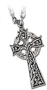 Celts Cross - Alchemy Gothic Pendant Necklace