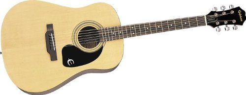 Epiphone DR-100 Acoustic Guitar, Natural