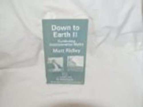 Down to Earth II (Studies on the Environment) PDF