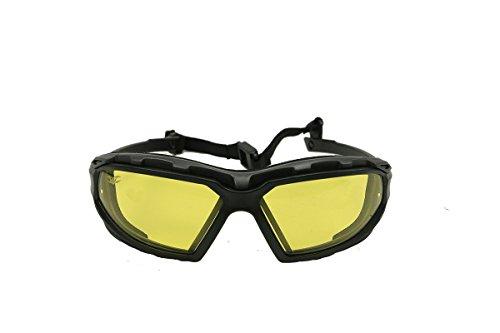 Valken V-Tac Echo Airsoft Goggle, Yellow