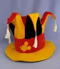 Disneyland Paris Jester Topper Fancy Dress Hat