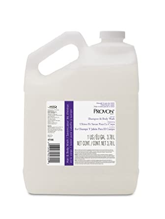 PROVON 4546-04 Ultimate Shampoo and Body Wash, 1 Gallon, Herbal Fragrance, Pearl (Case of 4)