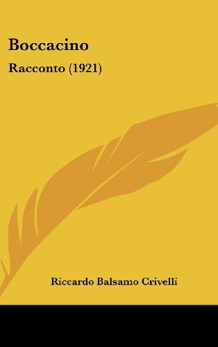 Boccacino: Racconto (1921)