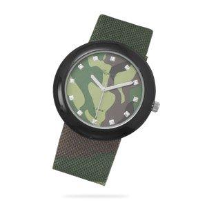 Green Camo Fashion Watch