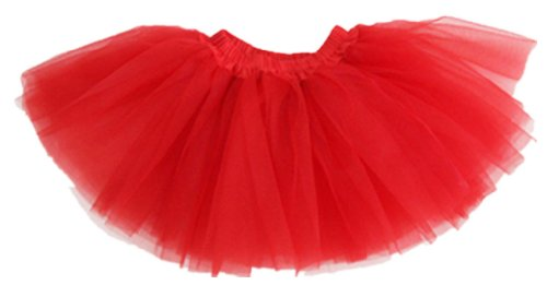 Am Clothes Girls Tutu Skirts 2-8 Years Old(Red) front-758790