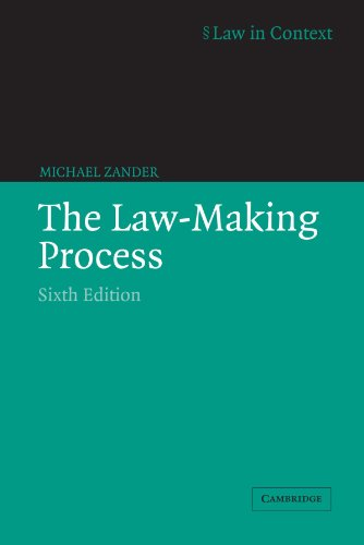 the process of law making Lawmaking the lawmaking process in nebraska officially begins when a senator introduces a bill into the legislature, which meets each january but the process actually begins much earlier, when a senator first begins to formulate ideas for new laws an idea for a new law may be suggested by anyone: concerned.