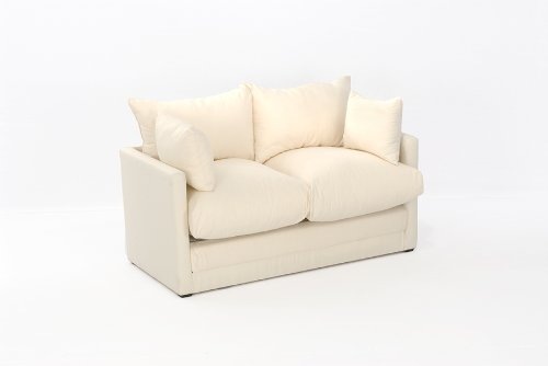 Leanne Sofa Bed in NATURAL Cotton Drill