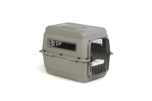 Petmate Sky Kennel For Pets From 50 To 70-Pound, Light Gray front-183083