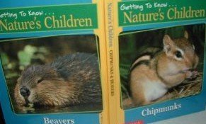 Chipmunks & Beavers (Getting To Know Nature'S Children) back-1054869