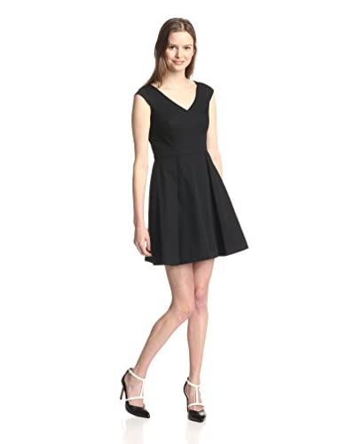 Kate Spade Saturday Women's Cap Sleeve Flare Dress