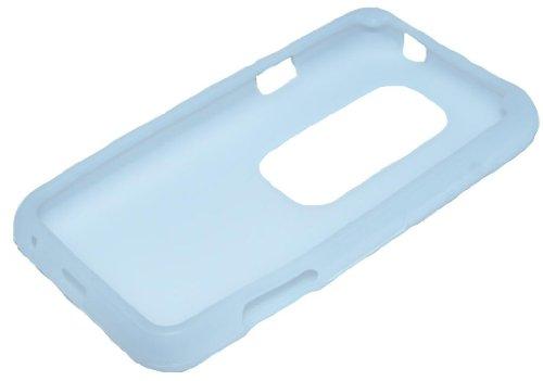 Soft Case Custodia Silicone per HTC EVO 3D bianco di RBrothersTechnologie