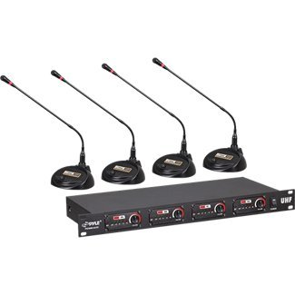 Pyle Pro Conference Uhf Wireless Microphone