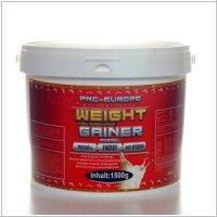 PNC Europe Proteinshake MEGA MASS Weight Gainer, Vanille, 1500g