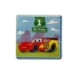 Cars 1st Birthday Small Napkins (16ct)